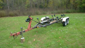 Tandem/Dual Axle Boat Trailer - Rollers