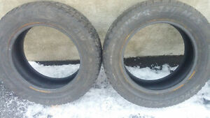 2 tires P 225 60 16 Cornwall Ontario image 2