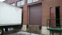 Cross Docking $30.00/hour/door, Two truck  level docks available