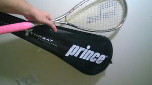 Prince Triple threat Tungsten Sovereign Squash Racquet