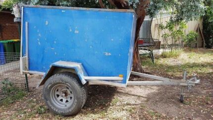 Box trailer - galvanised  Pakenham Cardinia Area Preview