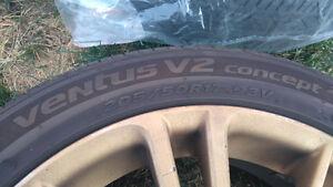Subaru brz oem rims with tires