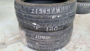 Pair of 2 Goodyear Eagle RSA 215/45R17 tires (55% tread life)