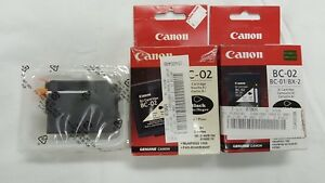 Canon BC-02 Printer Cartridges (Brand New)