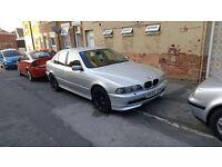 BMW E39 530i 2001 facelift 18 inch wheels M-sport
