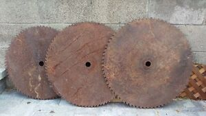 Millsaw 1970's Blades, collectibles, old, rustic