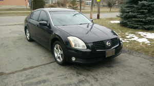 2004 Nissan Maxima 6 speed black on black