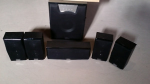 DiVinci DV-7010 5.1 CH SurroundSound Speakers System with Stands
