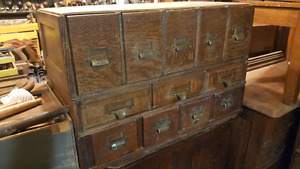 Antique stacking library