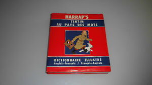 Dictionnaire Tintin au pays des mots Ang-Fra/Fra-Ang
