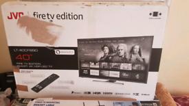 TV 40INCHE SMART FIRTV EDITIONL JVC 4K ULTRA HD