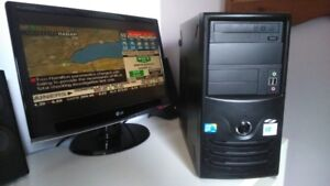 Windows 10 Desktop Computer Powered by Intel For Sale