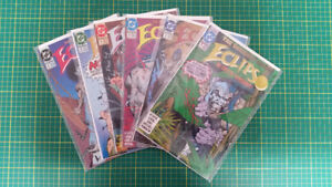 Eclipso # 1-6 comics  WOW $5  Mint Cond. comic books collection