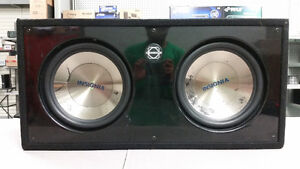 "12"" Insignia Subs in Ported Bassworx Box"