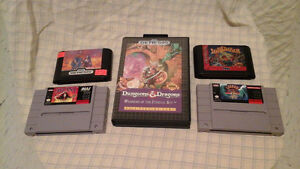 Snes and Genesis rpgs for sale