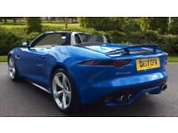 2017 Jaguar F-TYPE 5.0 Supercharged V8 R 2dr AWD Automatic Petrol Convertible