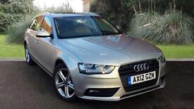 Audi A4 Avant 2.0TDi SE Technik Auto Estate Silver 2012