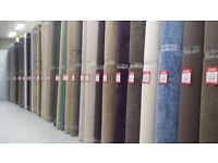 Carpet warehouse closing down, everything must go room size carpet from , £39