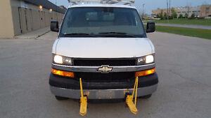 2009 Chevrolet Express 1 Ton Shelving Work Van Minivan, Van