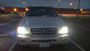 2002 Mercedes-Benz M ML 500 SUV ETested As-IS