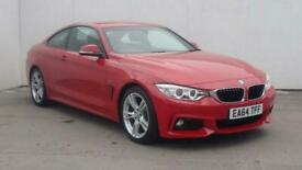 image for 2014 BMW 4 Series 420d M Sport 2dr Coupe diesel Manual