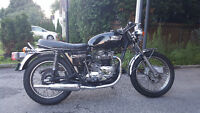RARE CLASSIC 1973 750CC TRIUMPH TIGER--MATCHING NUMBERS --PLATED