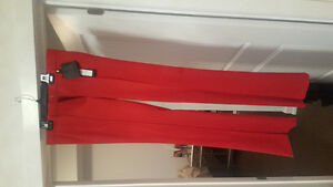 Versace dress pants ( red)