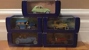Tintin Model cars / Voitures Modèles Tintin
