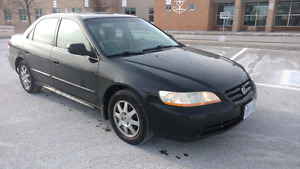 2002 Honda Accord SE- Well Maintained, No Rust,w/E-Test