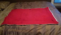 Sheep skin dog bed for crate 42inches long