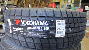 225/60/16  YOKOHAMA winter tires