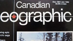Canadian Geographic collection