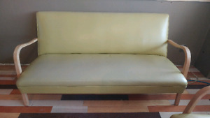 Vintage small couch.