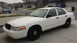 2009 Ford Crown Victoria City of Calary Police Interceptor 4.6L