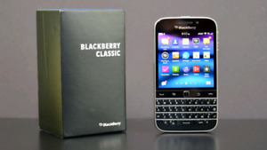 New! BlackBerry classic 16gb Unlocked​ Mint Condition!