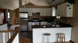 3 Bedroom 1 Bath Upper and part lower custom house