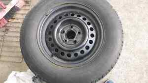 Tire with rim West Island Greater Montréal image 4