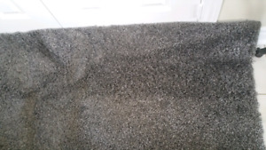 Costco grey shag rug 8x10