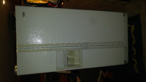 Whirlpool side by side fridge with icemaker and water