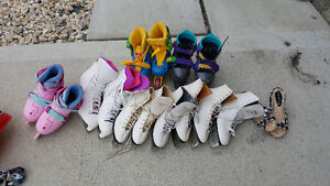 Roller skates and Ice Skating shoes