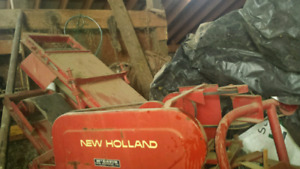 270 new holland baler and thrower