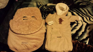 Baby winter bunting bag 3 to 6 months