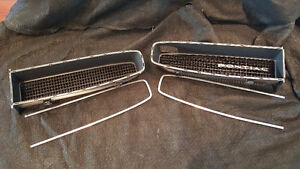 1966 Front Grills and Automatic Console - Pontiac Lamans GTO