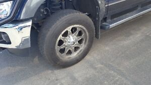 Fuel Rims with Tires