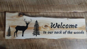 Hand painted rustic signs and more