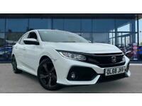 2019 Honda Civic 1.0 VTEC Turbo 126 SR 5dr CVT Petrol Hatchback Auto Hatchback P