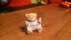 Paws for Thought bear figurine (CONGRATULATIONS)