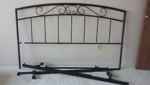 Sears Almost new king size headboard and frames for sale