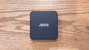 Android OTT M8S TV Box With Kodi 16.1 Jarvis