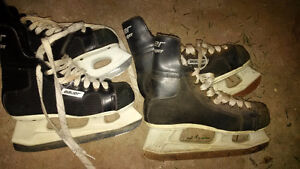 various size skates from 5 to 45